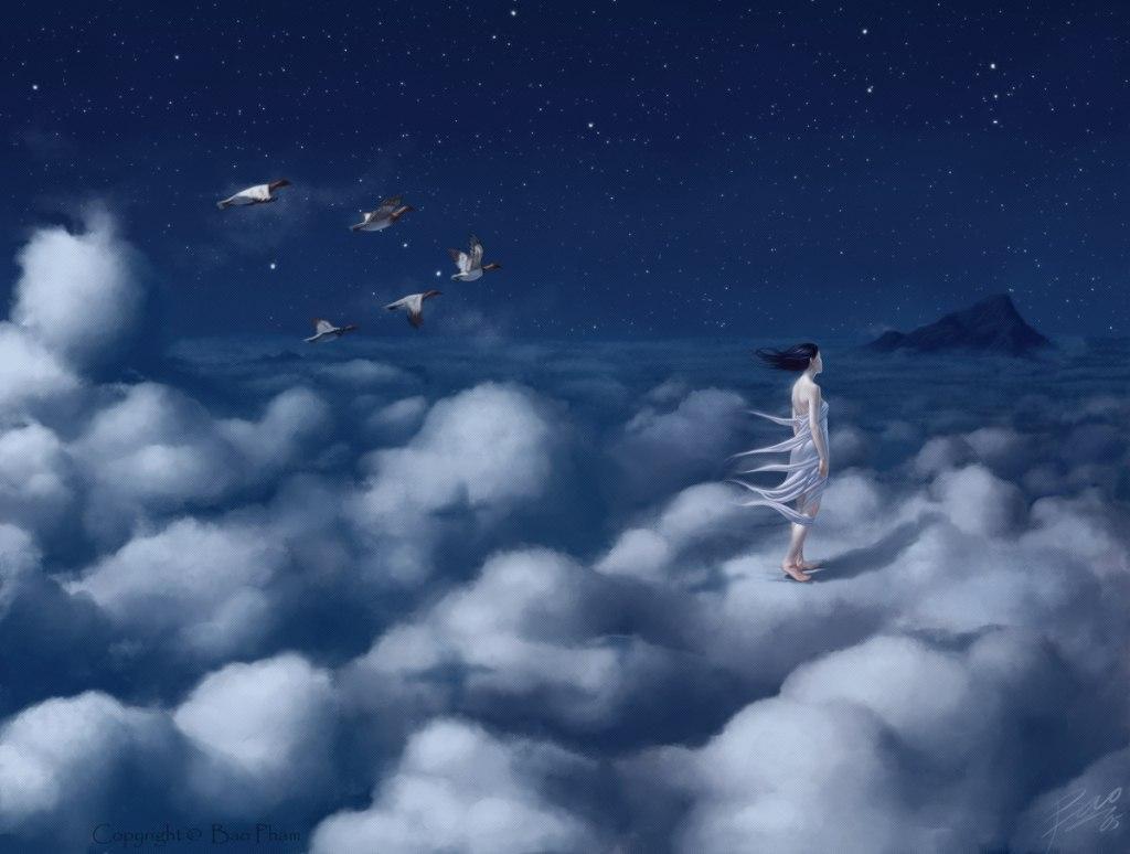 казалось, что ты в небе летал картинки уходит, такой
