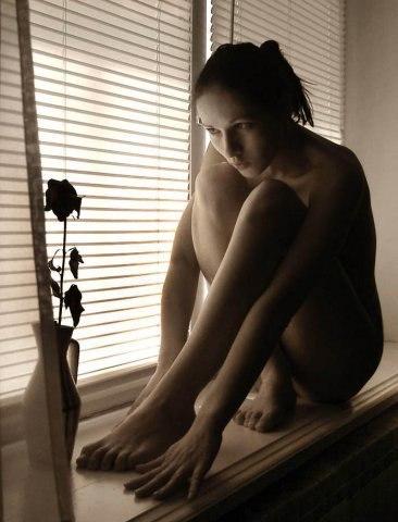 Голые одинокие фото