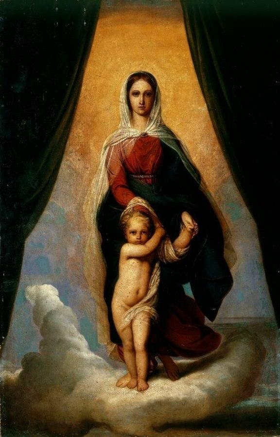 Мамочка, молись...