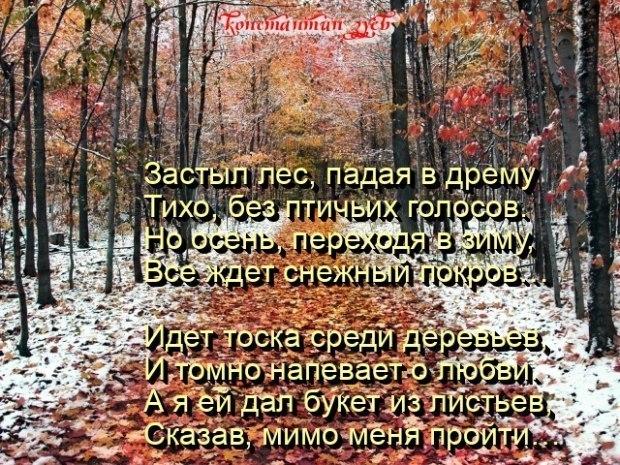 ОСЕНЬ НЕ ЛЮБЛЮ...