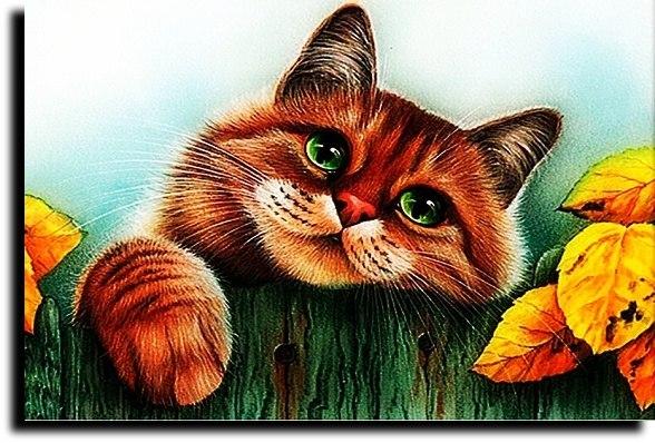 Кошка - осень... ( Мелодия и исполнение - Светлана Страусова)