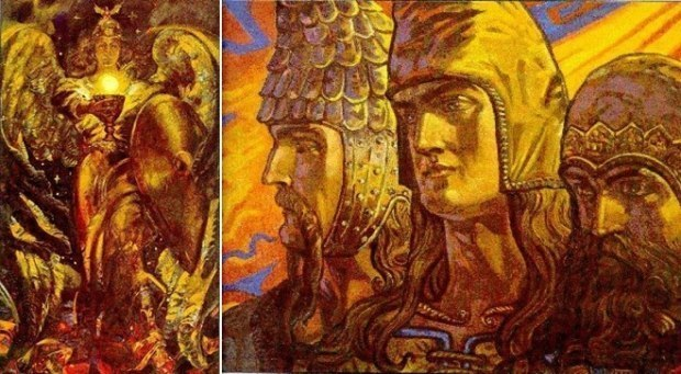 """""""Таргитай и Табити"""" музыка, аккомпанемент и исполнение - Vladimir Moryak"""