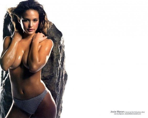 josie-maran-sexy-carano-nipples-girls
