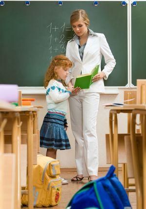 учитель и ученица фото