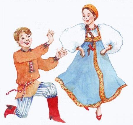 Картинка в танце девушка