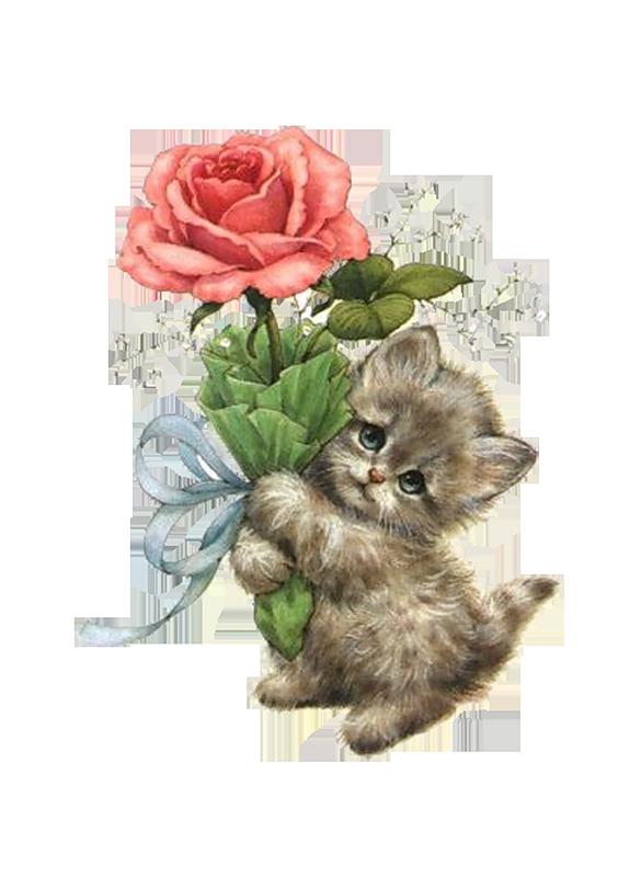 открытки в день рождения дочке с котятами вопросом, где
