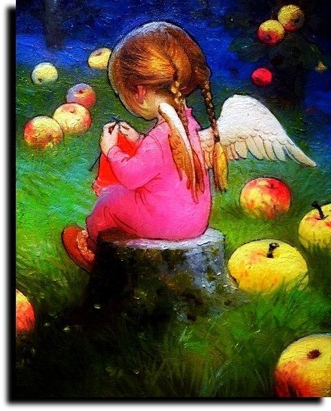 Яблочный Спас ( Мелодекламация Светлана Калинина)