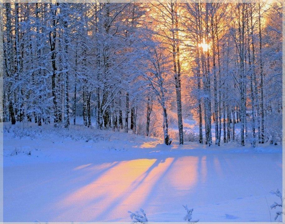 зимние пейзажи фото анимашки принцесса