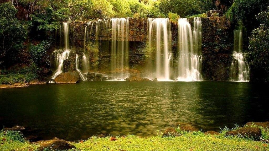 картинка на рабочий стол природа водопады № 501938 без смс