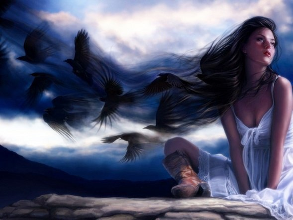 Ранимая, дикая птица... ( Мелодия и исполнение - Светлана Страусова)
