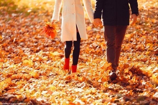 Осенний парк...