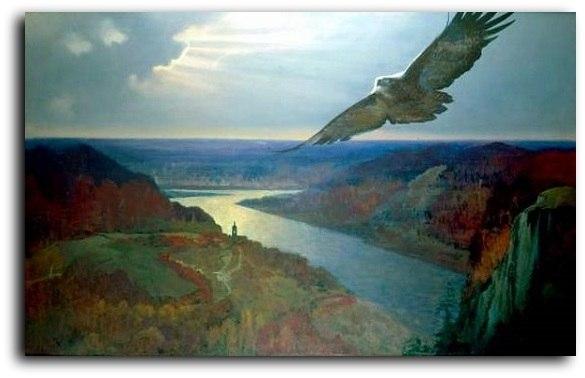 Небесный Ангел нам укажет путь... ( Александру Блоку)