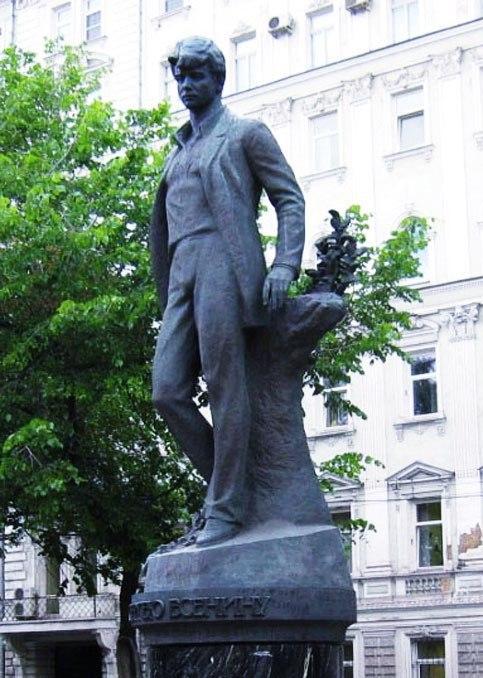 фото есенина у памятника пушкина