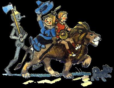 Железный дровосек лев и чучело
