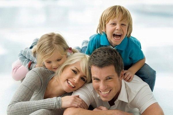 Как прекрасно жить на свете, когда дома есть семья