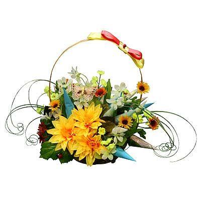 Подарок на день рождения из цветов 45