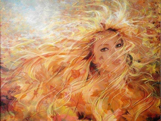 Картинки фея осени бесплатно