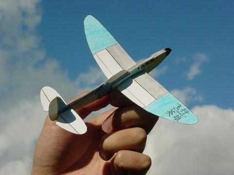 Самолёт который сам летает со своими руками