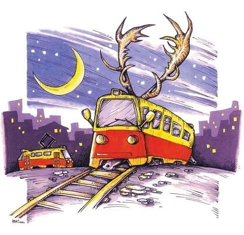 Трамвай веселые картинки, скрапбукинг мастер картинки