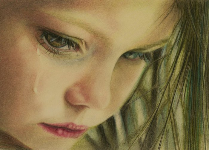 Картинки по запросу фото девочка плачет
