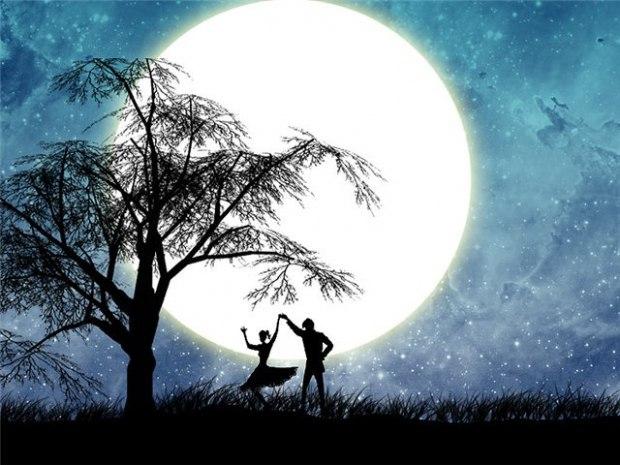 картинки танцы под луной может превращаться