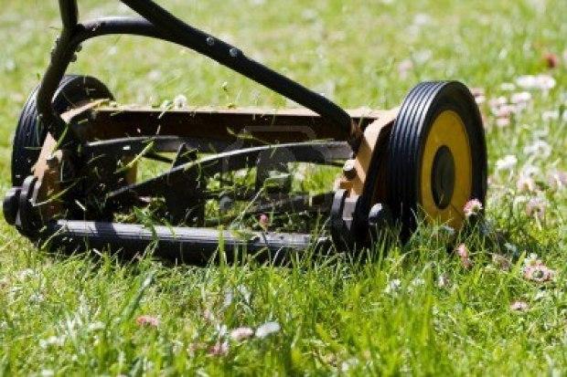 Как сделать механическую газонокосилку своими руками 186