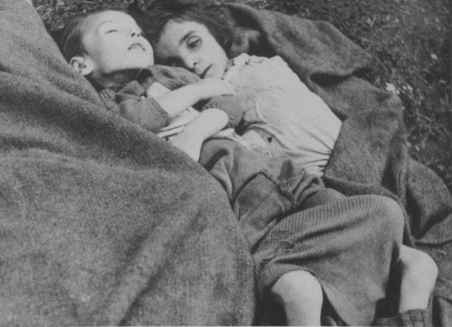 Фото дети в концлагере вов 25