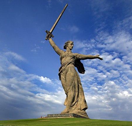 Мамаев Курган  - 2 февраля 2018г. 75 лет Победы под Сталинградом