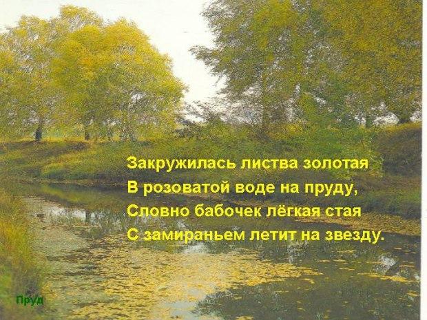 Стихи о природе русских поэтов