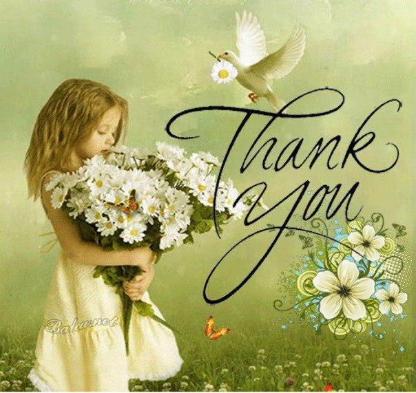 Для, открытка спасибо катя
