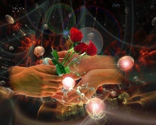 Открытка дарю любовь и тепло, картинках
