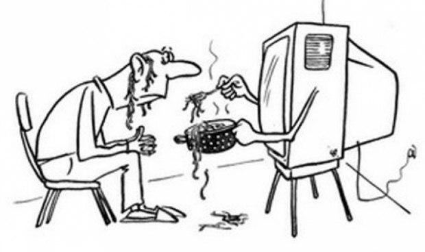 Песня и анекдоты про украинское телевидение и свидомых
