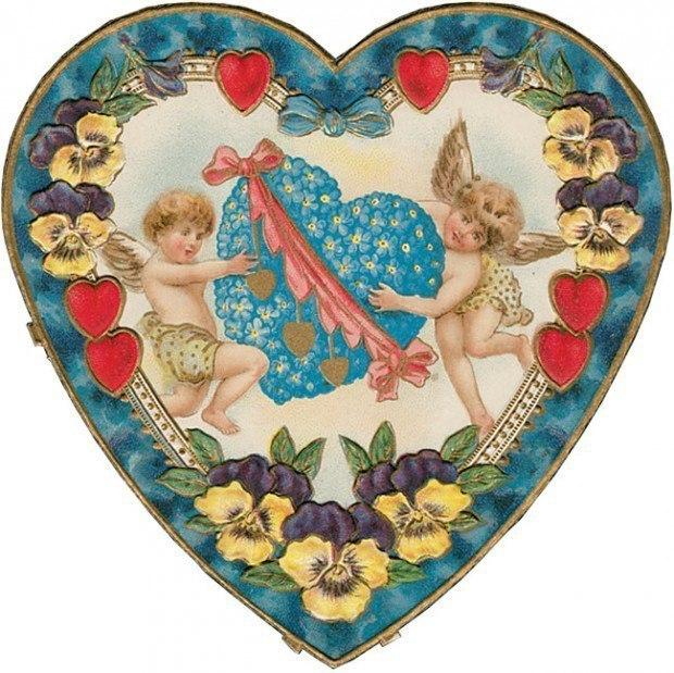 Открытки для печати с дне святого валентина