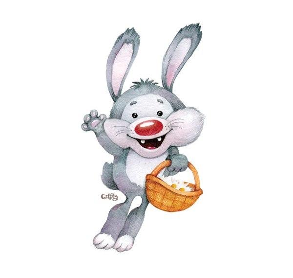 Заяц смешные картинки для детей