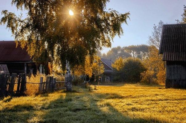 Деревенские красивые фото