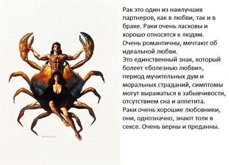 Характеристика женщины рака по гороскопу