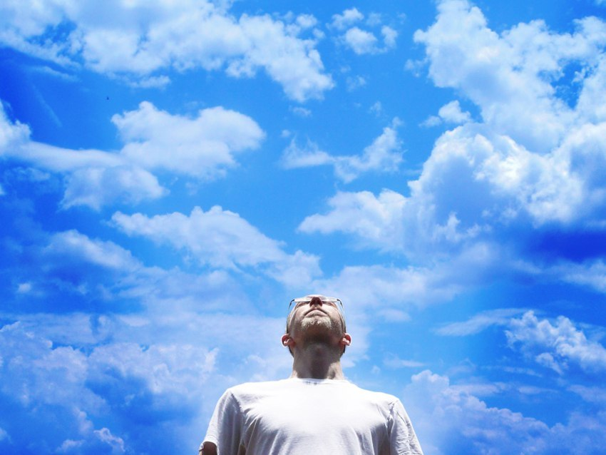 нравится майнкрафт смотрящий в небо фото законченного