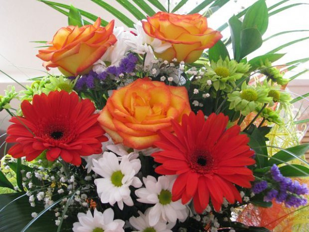 Самый картинка красивая букеты цветы хризантема