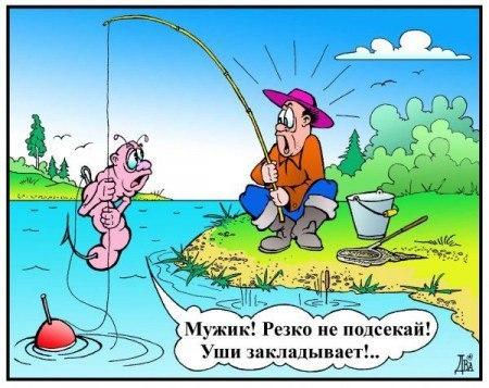 Веселый сценарий дня рыбака