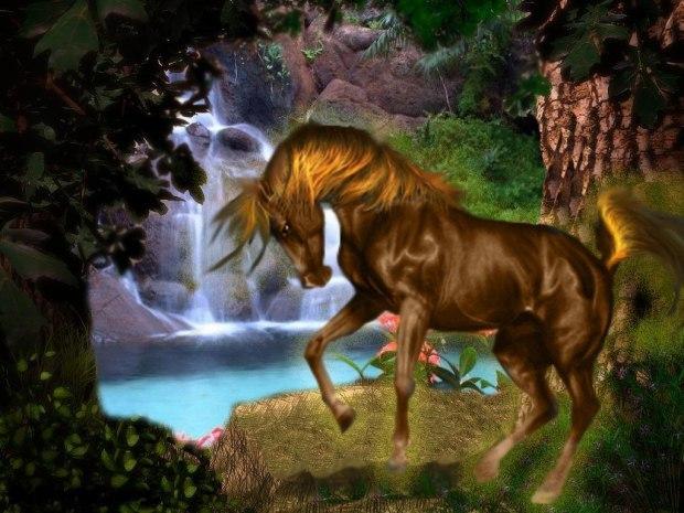 картинки златогривые кони древности применяли как