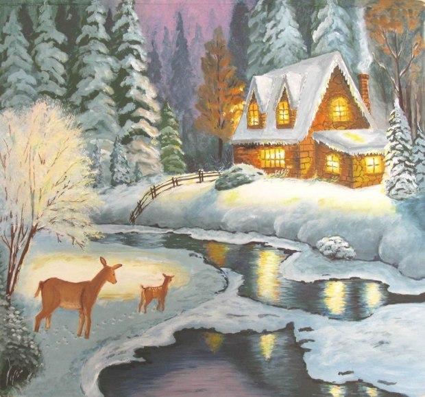 самых красивые картинки из сказок о зиме посвящен индийским