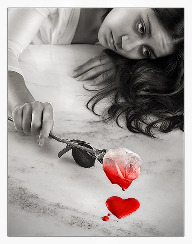 Картинки анимации сон девушки с разбитым сердцем