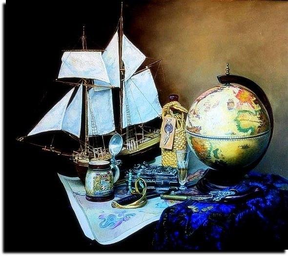 Песенка о пиратском счастье... ( Муз. и исп.Е.Евдокимов)