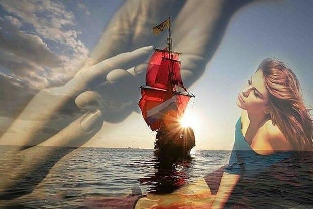фото ассоль ждущая алые паруса косплеерши