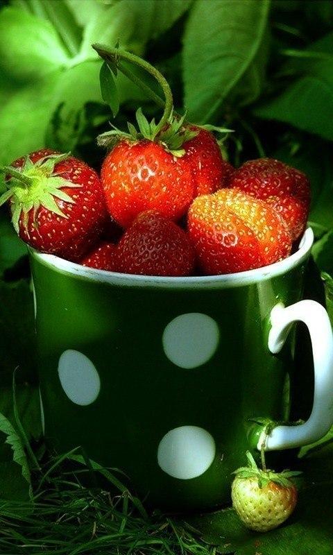 Фрукты ягоды гифка, сладких снов прикольные