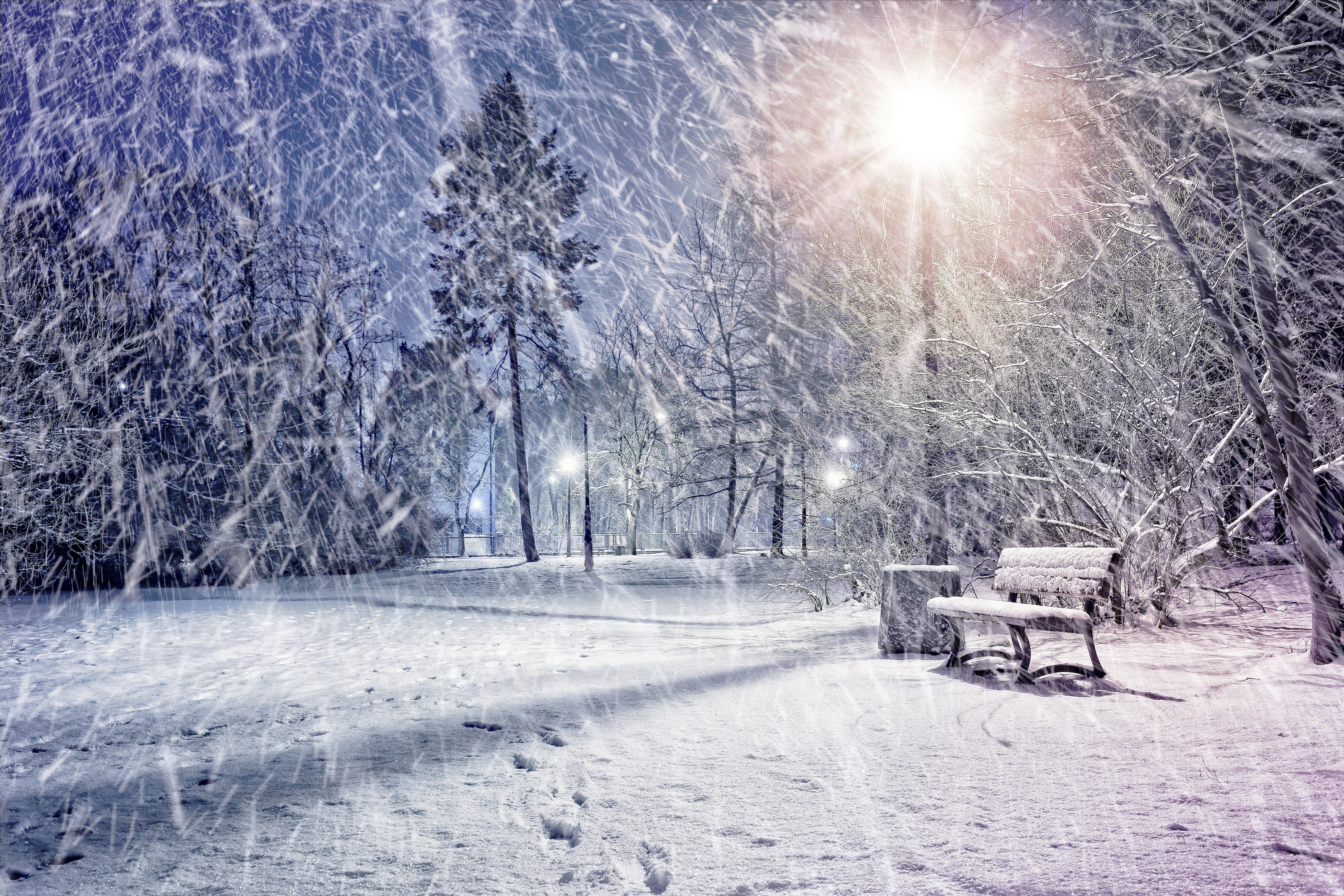 большой снегопад картинки поделитесь своей