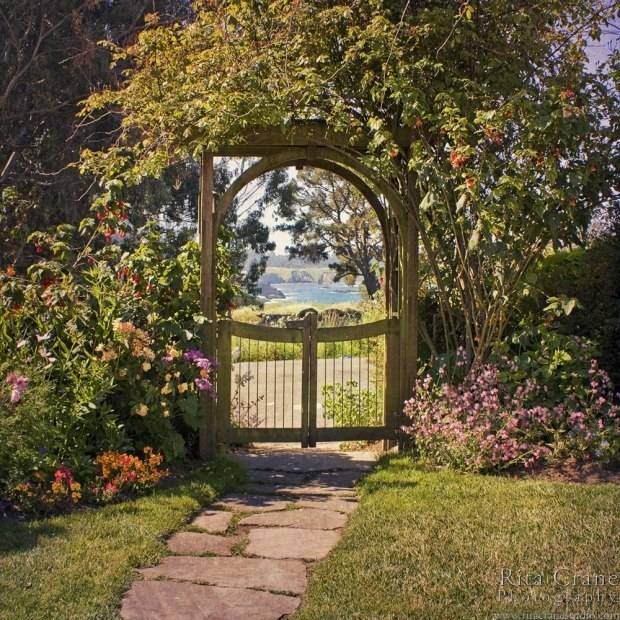 Калитка в сад фото