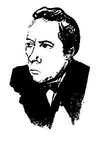 Картинки по запросу Велимир Хлебников, портрет работы Владимира Маяковского, 1916 год.