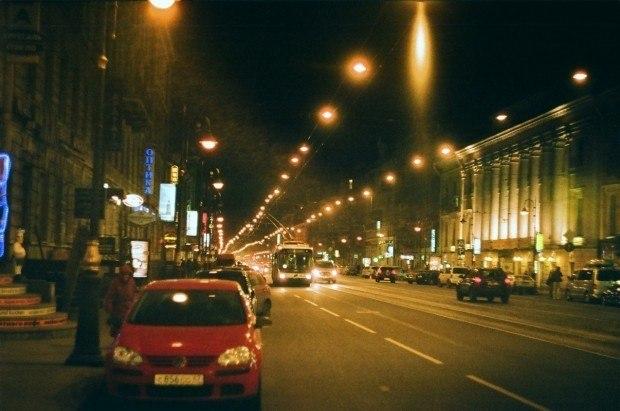Мой город ночью никогда не спит...