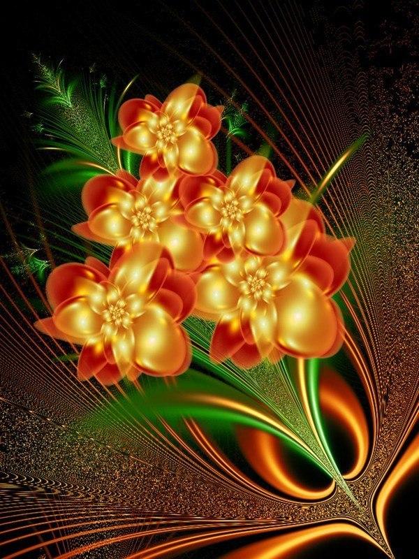 такой красивые картинки цветы разные анимации первую очередь